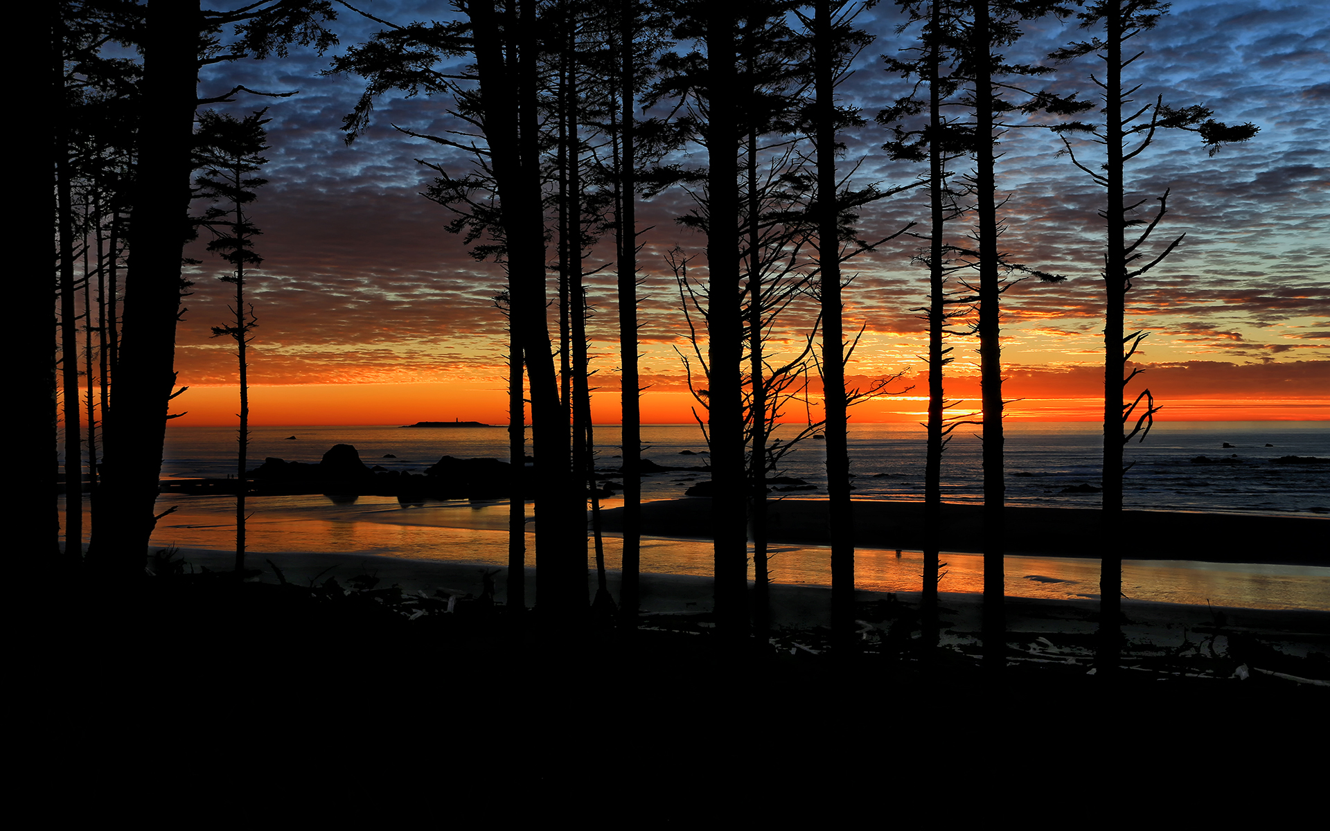 RB-15167-1TC  Sunset on Ruby Beach II