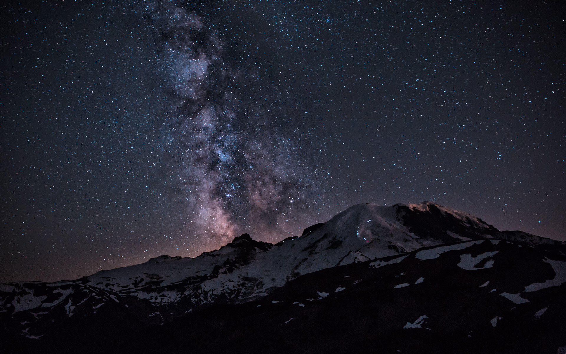 MRMW-1768-1TC Milky Way Over Mt. Rainier V